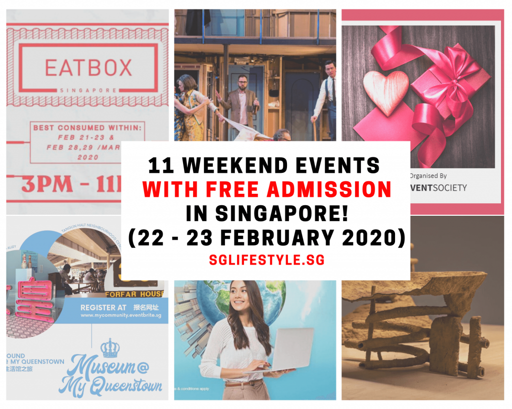 weekend events singapore feb 2020
